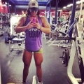 Girl with muscle - Chloe Sannito