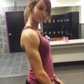 Girl with muscle - Mary Cantu