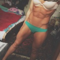 Girl with muscle - valeria