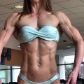 Girl with muscle -  wanglewish