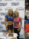 Girl with muscle - Monica Brant (L), Amy Rozier (R)