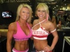 Girl with muscle - Amy Rozier (L), Lacey Lynn (R)