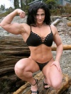 Girl with muscle - Athena Siganakis