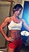 Girl with muscle - Lindsay Cappotelli