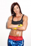 Girl with muscle - Rebecca Maughan