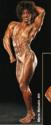 Girl with muscle - Marie-Laure Mahabir