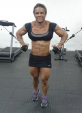 Girl with muscle - Laine costa