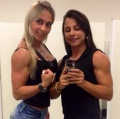 Girl with muscle - Leticia Rapucci / Monique Carvalho