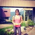 Girl with muscle - Harpreet Pandher