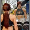 Girl with muscle - Rachelle Carter