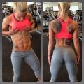Girl with muscle - Caroline Aspenskog