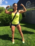 Girl with muscle - Patricia Alamo