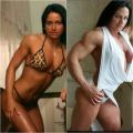 Girl with muscle - Theresa Ivancik