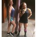 Girl with muscle - sarah / Leanna Carr