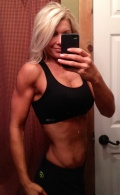 Girl with muscle - Dana Nicole Mauro
