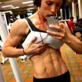 Girl with muscle - Sara Heimisdottir