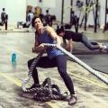 Girl with muscle - Shellie Edington
