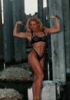 Girl with muscle - Charlene Rink