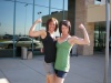 Girl with muscle - Casey Barry Tuttle (right)