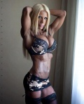 Girl with muscle - zeydy escobar