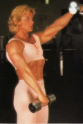 Girl with muscle - Bev Francis