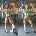 Girl with muscle - Anastasia Papoutsaki