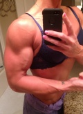 Girl with muscle - Tanya Hyde