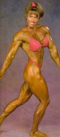 Girl with muscle - Denise Hoshor