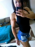 Girl with muscle - Danielle Mastromatteo