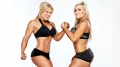Beth Phoenix (L) / Natalya Neidhart (R)