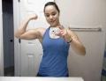 Girl with muscle - Nicole Gonzalez