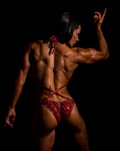 Girl with muscle - Gabriela Quiros Rodriguez