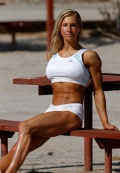 Girl with muscle - Gail Sanez