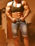 Girl with muscle - Basia Dimitraki