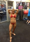 Girl with muscle - Vanessa Adams
