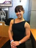 Girl with muscle - Katie Morris