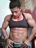 Girl with muscle - Basia Dimitraki
