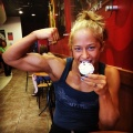 Girl with muscle - Olivia Moschetti