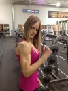 Girl with muscle - Kate