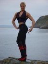 Girl with muscle - Monica Saur Hoyer