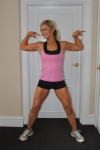 Girl with muscle - natalie