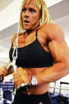 Girl with muscle - Sharon Madderson