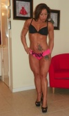 Girl with muscle - claudia