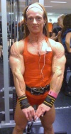 Girl with muscle - Anna Karnebo