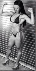 Girl with muscle - Sue Lasmar