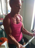 Girl with muscle - Vicky Moutopoulou