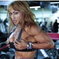 Girl with muscle - Karina Nascimento