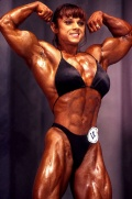 Girl with muscle - Yvonne Vasquez