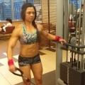 Girl with muscle - rinn farina