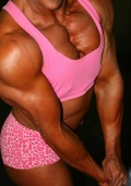 Girl with muscle - jacqueline